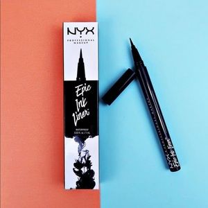 NIB New NYX Epic Ink Black Waterproof Liner